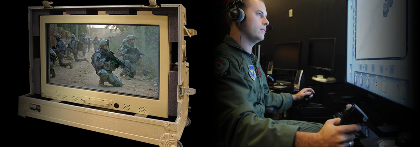 Military all-in-one computer